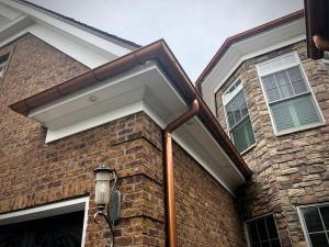 Copper Gutters Creative Seamless Gutters